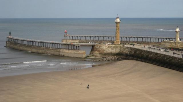 Whitby Pier and Beach