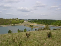 Waters left by Newstead Colliery