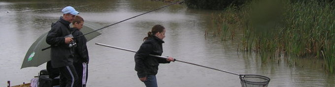 Young People Angling